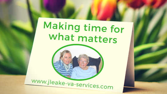 making time for what matters
