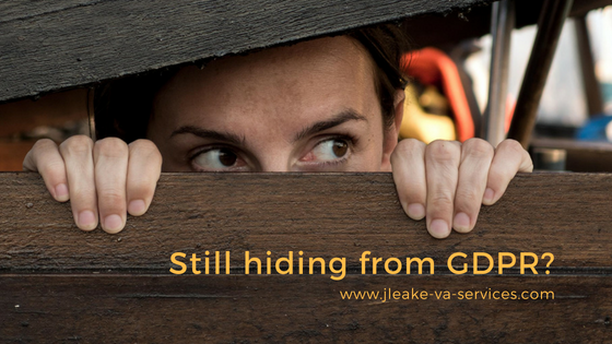hiding from GDPR
